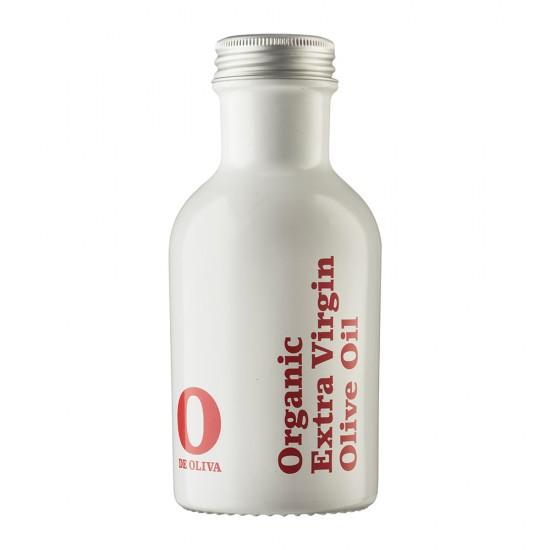 O de Oliva - 3 pack - økologisk ekstra jomfru olivenolie - sort flaske - 3 x 250ml